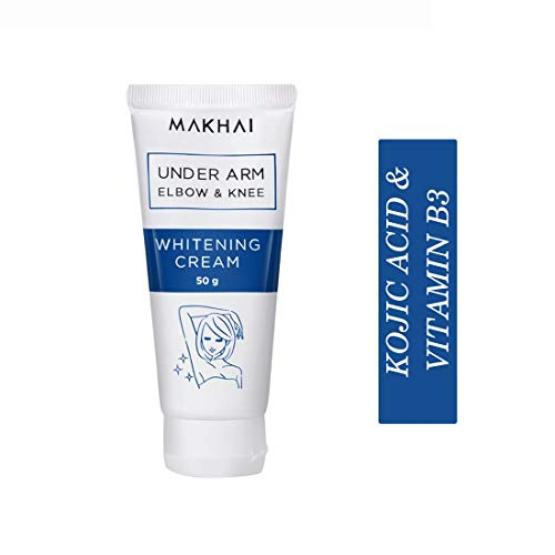 Makhai Underarm Whitening Cream for underarms, elbows, knee with Kojic Acid & VITAMIN B3 – 50g