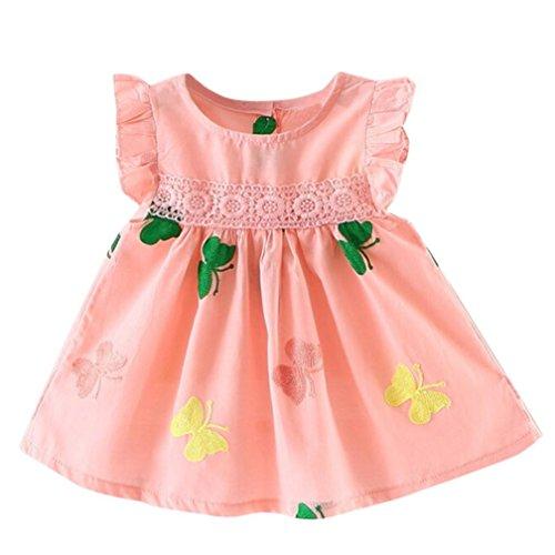 K-youth Vestido Bebé Niña Linda Vestido de princesa Niña Tutú Princesa  Vestido Niña Sin 1faa9f4013e8