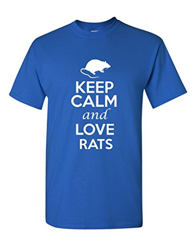 keep-calm-and-love-rats-rodents-novelty-statement-unisex-adult-t-shirt-tee-medium-royal-blue