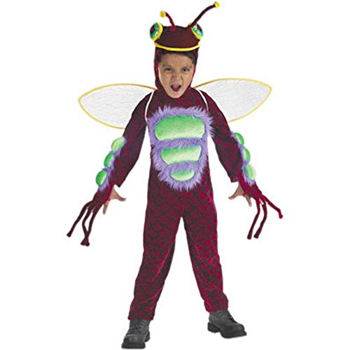 Child's Toddler Red Bug Costume (Toddler 1T-2T)