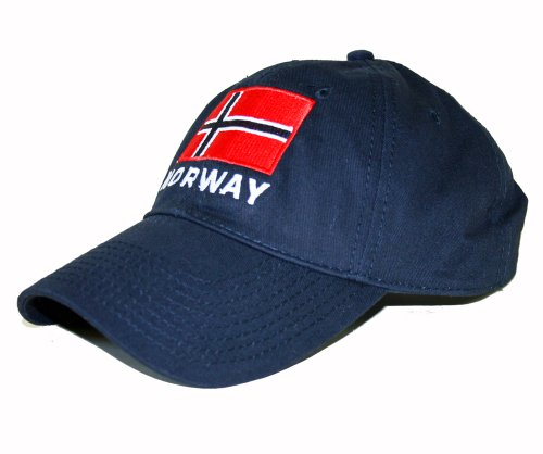 ScandinavianShoppe Norway Embroidered Cap/Golf Hat