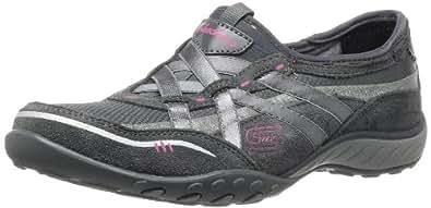 Skechers Sport Women's Breathe Easy Fashion Sneaker,Charcoal,6 M US