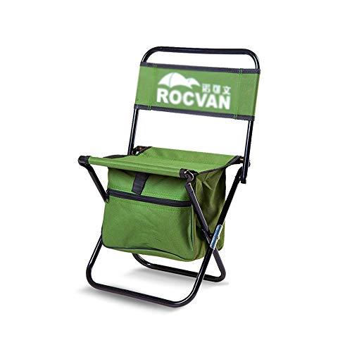 LifeX Faltbarer Sitzsitz im Freien faltender Schritt-Hocker, der faltenden Lehnsessel-Stahl Mazar-Sitzplätze tragbare faltende Bank-grünen Stahl-Slacker-Stuhl mit Aufbewahrungsbehälter faltet