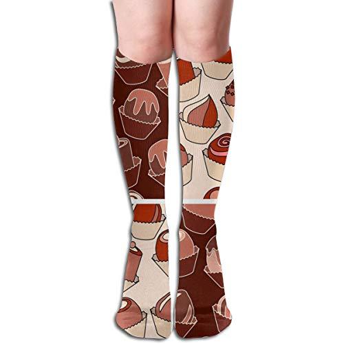Girls Socks Mid-Calf Smores Cake Winter Fabulous For Halloween ()