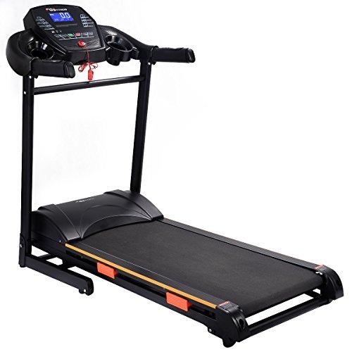 Aw 1100w Folding Electric Treadmill Portable Power