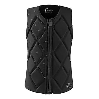 O'Neill Wetsuits Wake Waterski Womens Gem Comp Vest, Black, 10