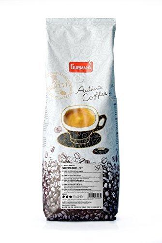 GURMANs EXPRESS granos de café EXCELENTE 1 kg (60% + 40% Arábica Robusta