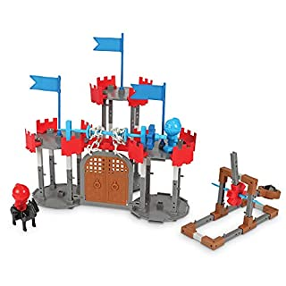 Learning Resources Engineering & Design Castle Set, STEM, Critical Thinking, Problem Solving, and Early Engineering Skills Toy, 123 Pieces, Ages 5+