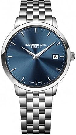 Raymond Weil Toccata Blue Dial Steel Bracelet Mens Watch 5588-ST-50001