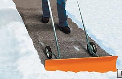 Dakota SnoBlade Snow Blade Removal Shovel w/ Wheels