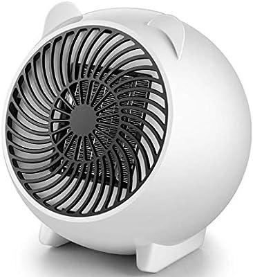 JXFF Mini Calentador, Calentador de cerámica Ventilador ...