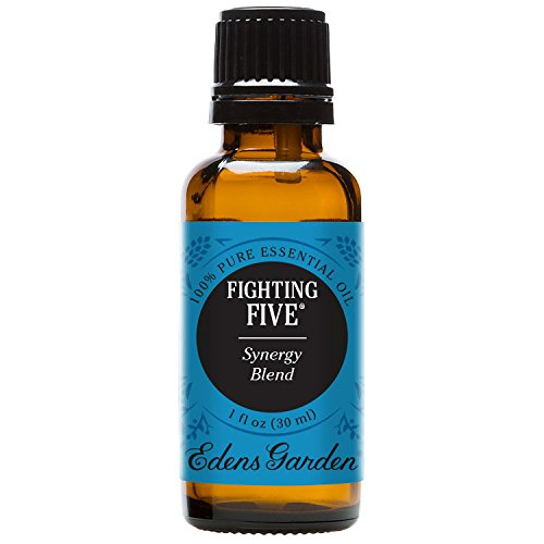 Fighting Five Synergy Blend Essential Oil by Edens Garden, 30 ml