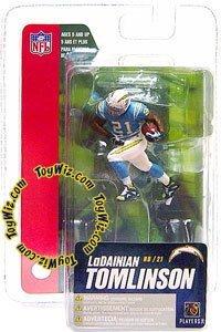 McFarlane Toys NFL 3 Inch Sports Picks Series 4 Mini Action Figure LaDainian Tomlinson (San Diego Chargers) (Figures Mini Mcfarlane)