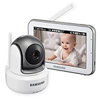 Samsung SEW-3043W BrightVIEW HD Baby Video Monitoring System IR Night Vision ...