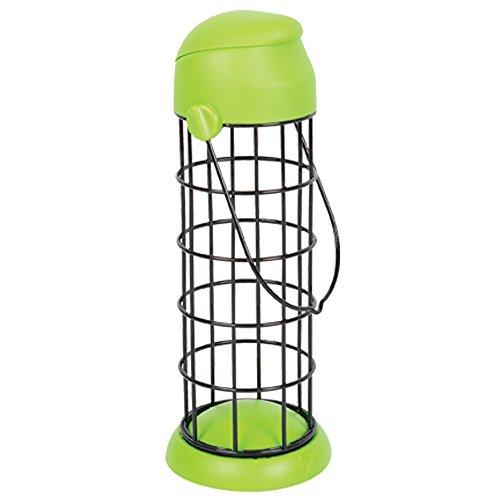 Alan Titchmarsh Flip Top Fat Ball Bird Feeder (8in) (Green)