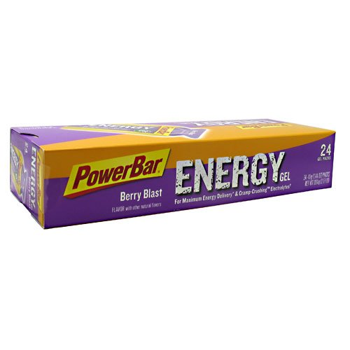 PowerBar PowerGel Gel - 24 Pack - Berry Blast
