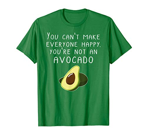 Vegan Funny Shirt Cant Make Everyone Happy Not An Avocado