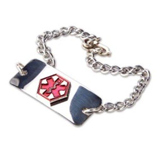Lavender Polished Bracelets - Medical Emergency Bracelet -