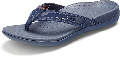 - Vionic by Orthaheel Womens Tide II Sandal Navy Size 8