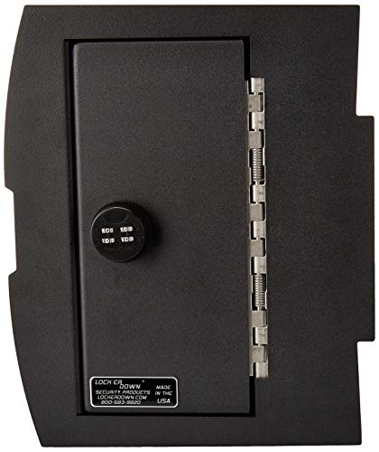 Lock'er Down Console Safe with 4 Digit Combo, Keep Personal Items Secure and Organized in Truck, Compatible with 2009 - 2014 Dodge Ram Pickups with Bucket Seat and Full Floor Console