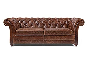 Westminster Chesterfield Leather Sofa By Rose U0026 Moore