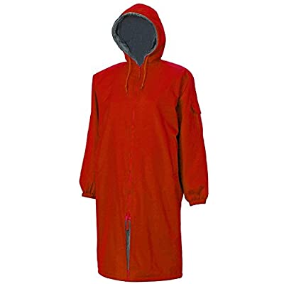 Adoretex Faux Fur Lining Swim Parka - Red - Youth - Small