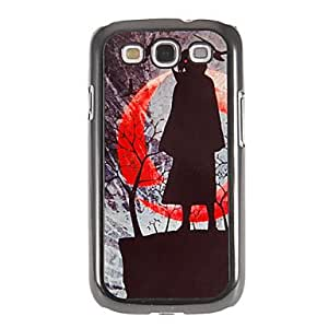 TOPAA Dark Night Warrior Pattern Mirror Smooth Back Hard Case with HD Screen Film 3 Pcs for Samsung S3 I9300