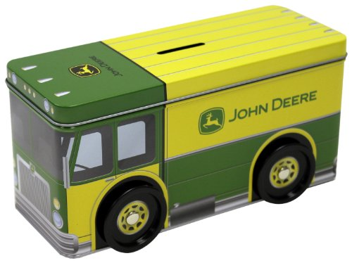 Tin Box Company 862407-12 John Deere Truck Bank
