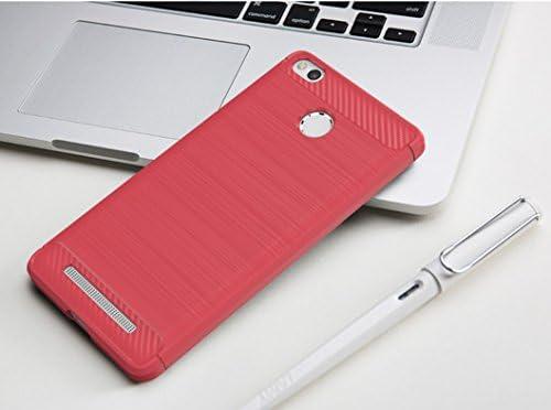 Amazon.com: Xiaomi Redmi 3S Prime Case, Manyip TPU Carbon ...