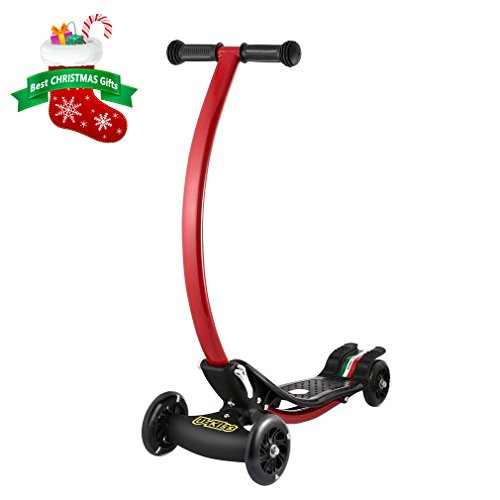 Kick Scooter, U-Kiss Stunt Scooter for Kids Boys Girls ...