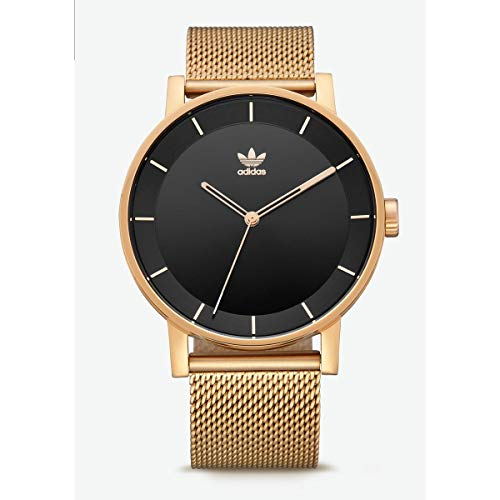 Adidas Mens Analogue Quartz Watch with Stainless Steel Strap Z04-1604-00 ()