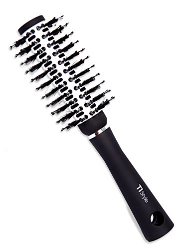 Round Thermal (Round Barrel Thermal Hair Brush - Natural Boar Bristles for Volumizing, Blow-Drying, Curling, Shine, Straigthening - Anti-Frizz & Anti-Static - Ergonomic & Travel Friendly - Amazing Hair Now)