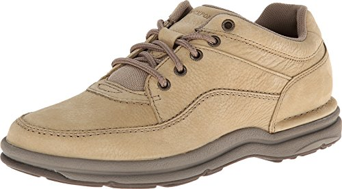 Rockport Men's World Tour Classic Walking Shoe,Sand Nubuc...