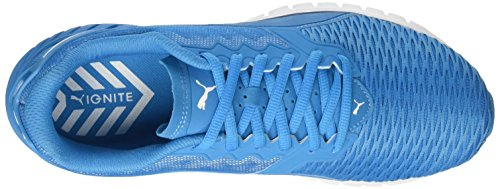 Puma Herren Ignite Dual Laufschuhe Blau (Blue Danube-Puma White 09)