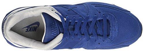 Nike Herre Fri 5,0 Print LaufSko Blau (slot Blå / Ulv Grå / Lyl Bl 400)