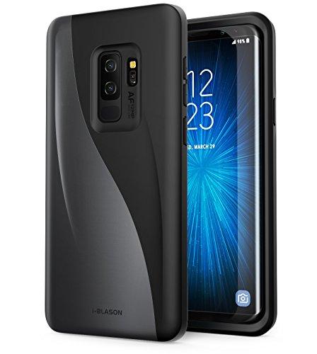 - i-Blason Case for Galaxy S9+ Plus 2018 Release, [Luna Series] Premium Hybrid Protective Case (Black)