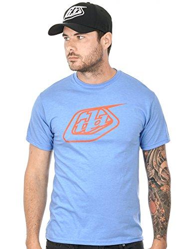 Troy Lee Designs T-Shirt Logo Blau Gr. XL