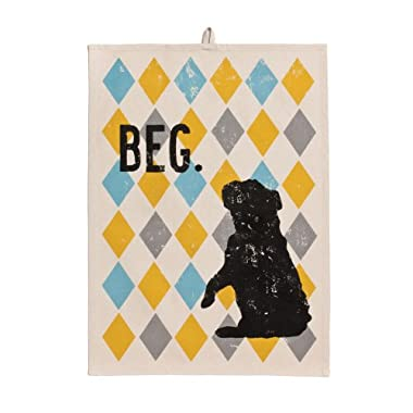 DEMDACO Dogs Rock Beg Tea Towel