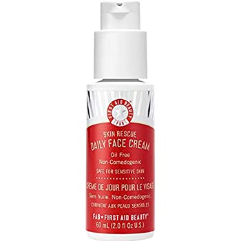 First Aid Beauty Skin Rescue Daily Face Cream, 2 oz