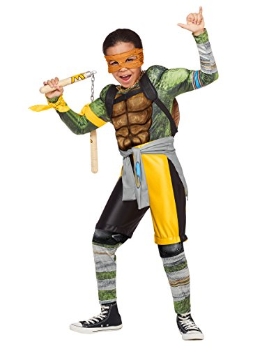 Michelangelo Kids Costumes Mask (Kids Michelangelo Costume Teenage Mutant Ninja Turtles: Out of the)