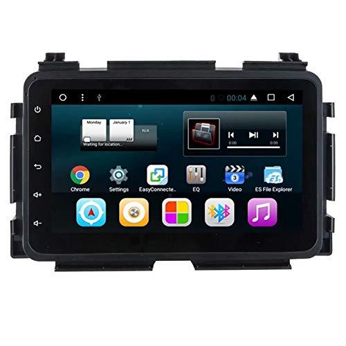 TOPNAVI 8inch 2Din Android 7.1 In Dash Auto Multimedia for Honda Vezel 2015 Stere GPS Navigation Radio Quad Core 1GB RAM 16GB ROM WIFI 3G RDS Mirror Link FM AM BT Audio Video