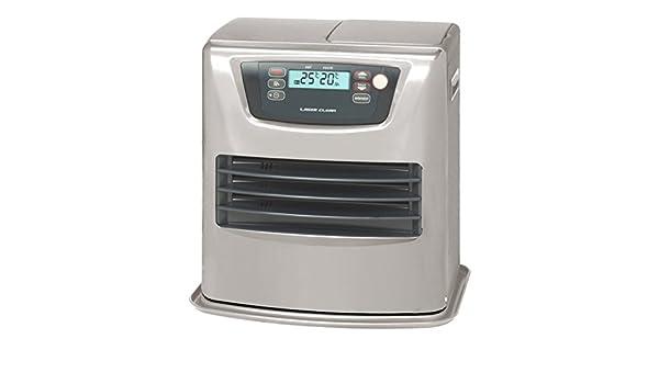 Zibro - Estufa de parafina LC-135, color plateado, con autonomía de entre 20,8 y 69,7 horas, ideal para calefaccionar volúmenes de entre 54 y 140 m³.