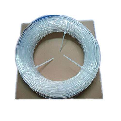 EVERZONE 2mm Solid Core Side Glow Fiber Optic Light Cable 5m/lot