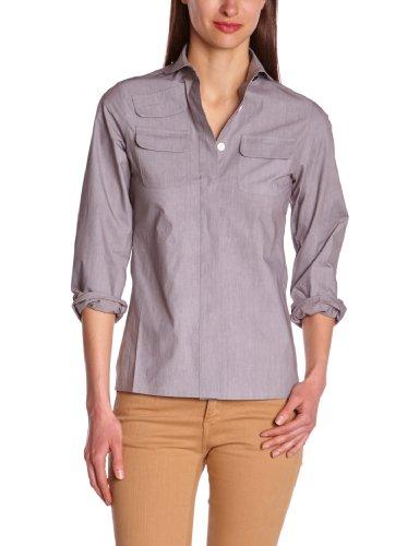 Gaspard Yurkievich - Camiseta de manga larga para mujer Gris