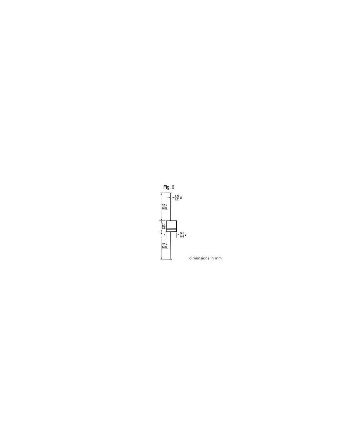 6/Amp Diode 200/V Perel 139586