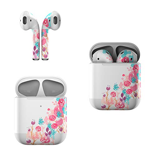 Skin Decals for Apple AirPods - Blush Blossoms - Sticker Wrap Fits 1st and 2nd Generation