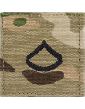 Multicam OCP Rank Insignia Fastener - Private First Class (Navy Army Rank)