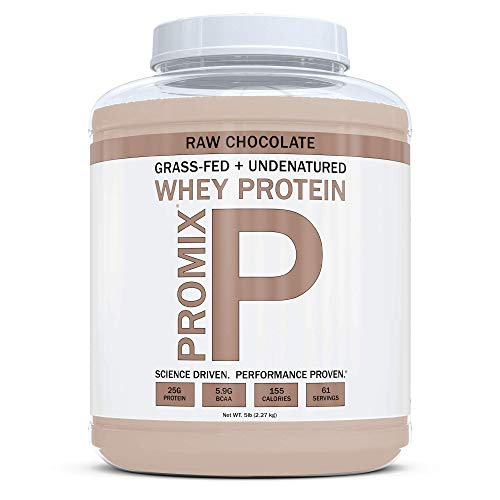 ProMix Nutrition Container of Chocolate Grass-Fed Whey Protein, 5 Pound For Sale