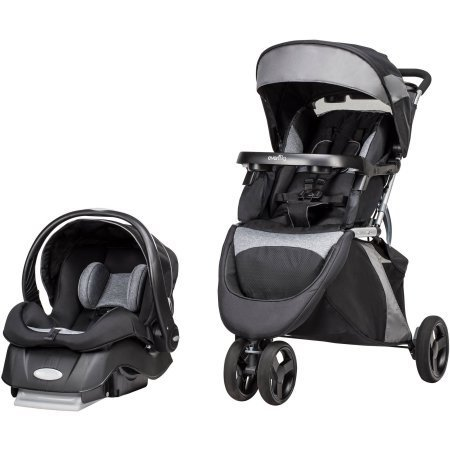 Evenflo Advanced SensorSafe Epic Travel System (System Pivot)