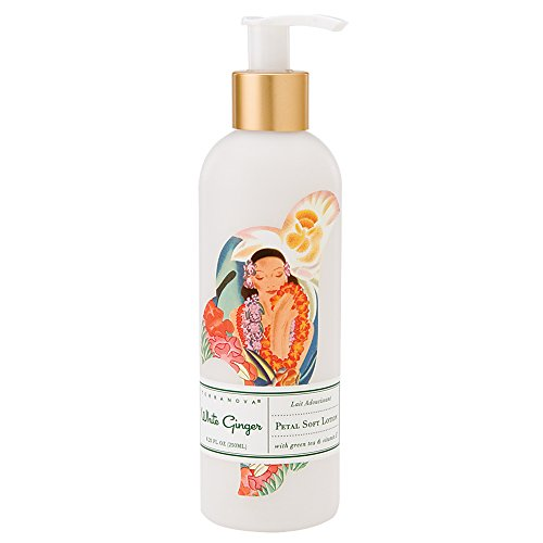 - TerraNova White Ginger 8.75 fl oz Petal Soft Lotion